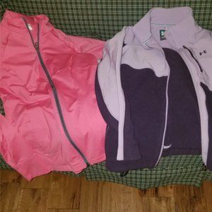 under armour zip up jackets (2)
